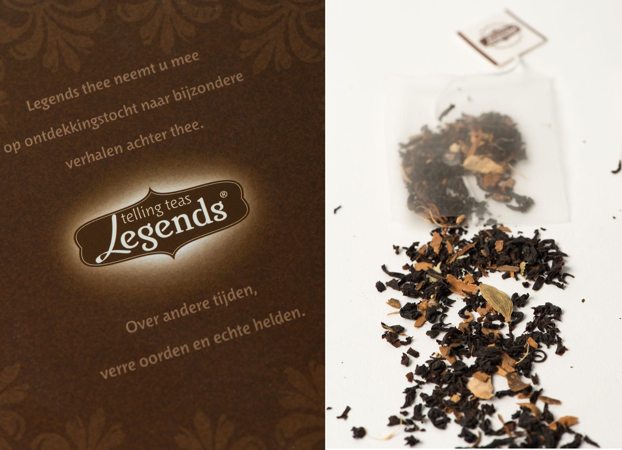 Legends Telling teas detail