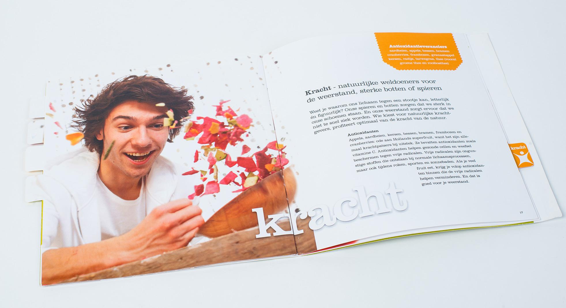 Food storytelling booklet by Leev