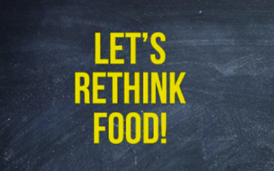 Quote Let's Rethink Food!