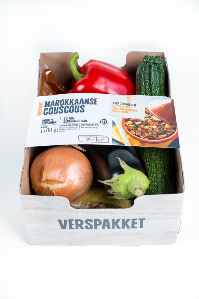 Example of the Albert Heijn Verpakket