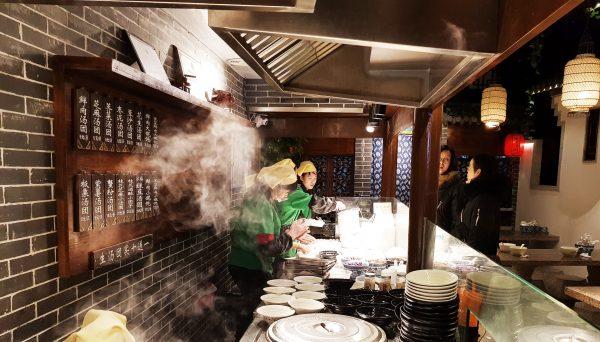 Regional kitchen in Shanghai China