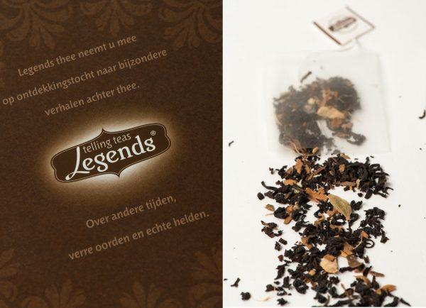 Logo losse tea legends